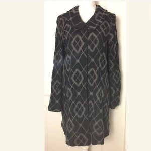 Anthropologie Burning Torch Sweater Coat Size M